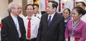 Khai mạc Đại hội Thi đua yêu nước của MTTQ Việt Nam: Lan tỏa tinh thần người Mặt trận