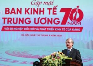 Ban Kinh tế Trung ương: Dấu ấn 70 năm