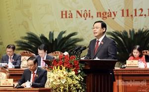Ông Vương Đình Huệ đắc cử Bí thư Thành ủy Hà Nội với số phiếu tuyệt đối
