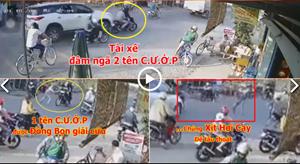 [VIDEO] Vụ cướp iPhone 12 Pro Max: Lái xe đuổi theo với tốc độ cao, 'đâm thẳng' tên cướp