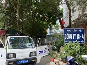 Hà Nội: Ca nhiễm Covid-19 mới ở Cầu Giấy từng chở vợ đi siêu thị