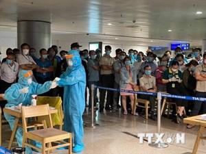 Tăng cường công tác kiểm soát ổ dịch tại Sân bay Tân Sơn Nhất