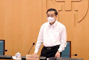 Chủ tịch Hà Nội: Ưu tiên ngăn chặn mầm bệnh xâm nhập, không 'ngăn sông cấm chợ'