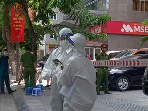 Hà Nội: Thêm 18 ca dương tính, có người nhà bệnh nhân ở BV Đống Đa phát hiện do bị ngứa họng
