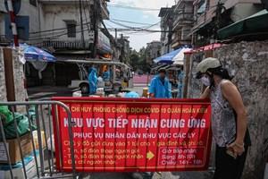 Hà Nội: Quận Hoàn Kiếm đảm bảo cung ứng thực phẩm cho người dân khu cách ly y tế