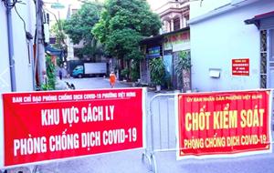 Công tác phòng, chống dịch bệnh Covid-19 tại Hà Nội trong ngày 22/9