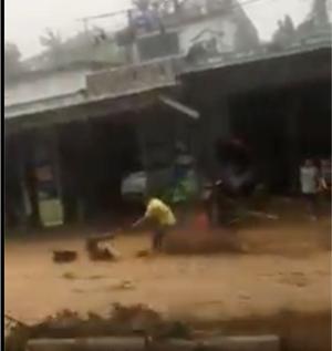 [VIDEO] Lũ cuốn trôi người, tài sản ở Nam Trà My, Quảng Nam