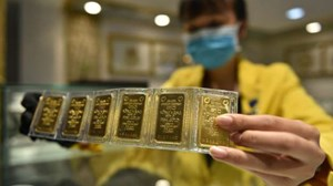 Giá vàng trong nước 'lao dốc' mạnh, nhà đầu tư lỗ nặng