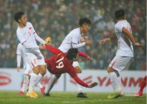 [VIDEO CLIP]: Bàn thắng của Quang Hải trong trận giao hữu với đội tuyển U22 Việt Nam