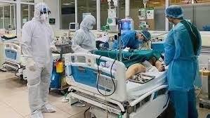 Bệnh nhân 1465 tổn thương phổi 75%