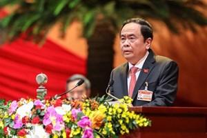 [VIDEO] Chủ tịch Trần Thanh Mẫn phát biểu tham luận tại Đại hội XIII của Đảng