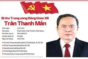 BẢN TIN MẶT TRẬN: Chủ tịch Trần Thanh Mẫn được bầu vào Bộ Chính trị