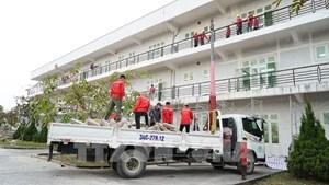 Gấp rút hoàn thành Bệnh viện dã chiến số 3 ở Hải Dương