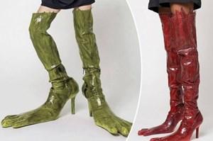 Những đôi bốt giá vài chục triệu có diện mạo 'siêu kinh dị'