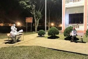 Lai Châu: Phạt nặng 2 trường hợp không khai báo đi qua vùng dịch