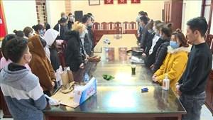 Thanh Hóa: Bắt giữ 37 đối tượng tổ chức sử dụng trái phép chất ma túy tại khách sạn và quán karaoke