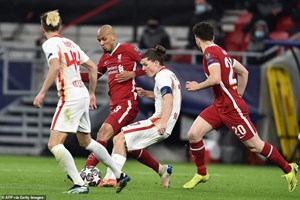 Chiến thắng chớp nhoáng, Liverpool tiến vào tứ kết Champions League