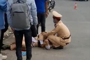 Vĩnh Phúc: Vụ chiến sĩ CSGT bị tông gãy chân tay: Khởi tố 2 thanh niên 17 tuổi