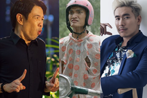 Những 'trai xấu cấu ra tiền' nổi tiếng của màn ảnh Việt