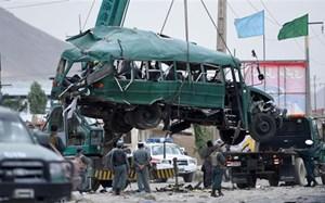 Đánh bom xe buýt ở Afghanistan, 13 người thương vong