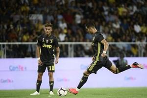 C.Ronaldo chỉ ghi 1 bàn sau 72 lần đá phạt tại Juventus