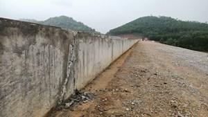 Công trình hồ Đá Bàn (Thanh Hóa): Nhà thầu thi công quá cẩu thả