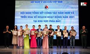 Hội Nghệ sĩ Sân khấu Việt Nam trao giải thưởng cho các cá nhân, tập thể xuất sắc