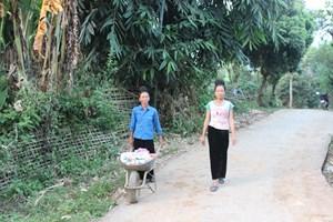 Lai Châu: Nâng chất lượng nông thôn mới ở xã Trung Đồng
