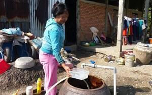 Tiền Giang: Cấp nước sinh hoạt miễn phí cho người dân địa bàn khó khăn