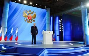 Tổng thống Nga Putin sẽ đọc thông điệp liên bang vào ngày 21/4