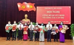 Đà Nẵng: Bổ nhiệm, luân chuyển nhiều lãnh đạo chủ chốt