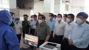 Thủ tướng Phạm Minh Chính làm việc tại Tây Ninh: Tính mạng người dân là trên hết