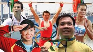 18 vận động viên Việt Nam tham dự Olympic Tokyo 2020