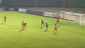 Tiến Linh 'mất điểm' với HLV Park ở trận thắng Sài Gòn FC