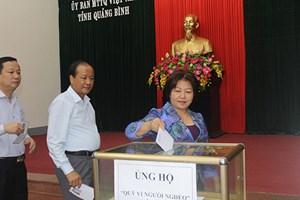 Minh Hóa (Quảng Bình): Phát động Tháng cao điểm 'Vì người nghèo'