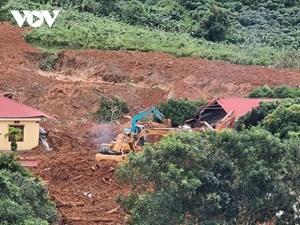 Sạt lở ở Hướng Hóa: Đã tìm thấy 10 thi thể cán bộ, chiến sĩ