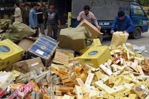 Kiên quyết xử lý tình trạng nhập lậu thuốc lá