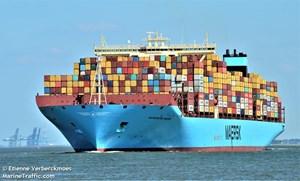Tàu lớn nhất thế giới sẽ cập cảng quốc tế Cái Mép