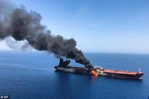 Nổ trên tàu chở dầu của Nga ở Biển Azov