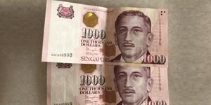 Singapore dừng phát hành tiền mệnh giá 1.000 SGD
