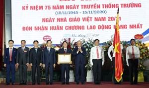 Trường ĐH Giao thông Vận tải đón nhận Huân chương Lao động hạng Nhất lần thứ ba