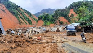 Quảng Nam: Nỗ lực giúp người dân vùng thiên tai