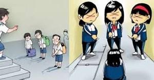 Lo quá, bạo lực học trò