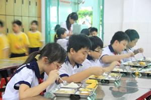 Bữa ăn học đường hạnh phúc