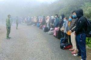 Hà Giang: Phát hiện, bắt giữ và cách ly 117 công dân nhập cảnh trái phép