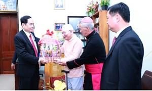 BẢN TIN MẶT TRẬN: Chủ tịch Trần Thanh Mẫn gửi Thư chúc mừng Giáng sinh năm 2020