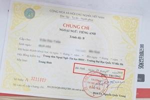 Đề nghị xem xét, công nhận chứng chỉ cho giáo viên nước ngoài dạy tiếng Anh