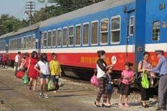 Đường sắt giảm sâu giá vé dịp sát Tết