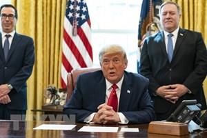 Tổng thống Trump ký dự luật chi tiêu và viện trợ kinh tế do đại dịch