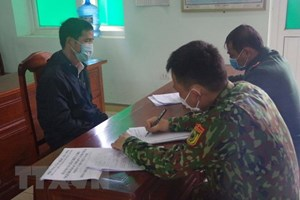 Lạng Sơn: Bắt giữ 5 đối tượng có hành vi đưa đón và nhập cảnh trái phép